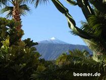 Ausblick auf den Teide vom Hotel aus
