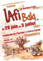 festival LafiBala, Chambéry, construction de décors et scénographie du festival