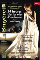 24h de la vie d'une femme, construction de décors de théâtre