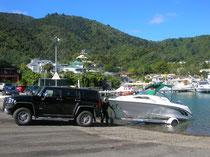 Boot fahren in Picton mit Angie & Gareth
