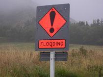 Typisch NZ: Flooding!