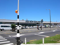 Ankunft Auckland Airport, Januar 2009