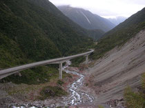 Otira Viaduct: führt über den Otira River