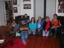 Bei Angie, Gareth & William mit Besuch der Murray Family (Julia, Bugsy & Jordan)