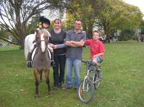Rogers Family: Meg, Lynn, Chris & G-Man