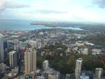 Auckland vom Sky Tower