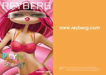 Reyberg swimwear collection 2009 - cover/backside