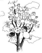 Wolkenrast (Filzstiftzeichnung / 21 x 15 cm)