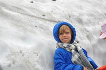 Nouchine im lange ersehnten Schnee