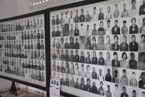 Registrierungsbilder der Opfer