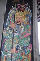 Eingang zu einem chinesischen Tempel.