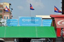 """Der """"russian market"""" in Phnom Penh."""