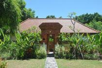 Unser Haus in der ersten Bali Woche