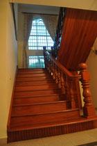 Der Aufgang zum Obergeschoss