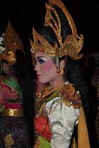 Balinesisches Tänzerin.