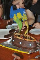 Der Piratenschiff-Kuchen von Rita