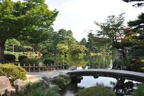 Der japanische Garten von Kanazawa