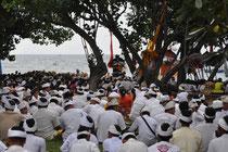 Blick auf der Zeremonie