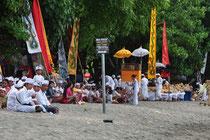 Permuteran an der Küste Balis.