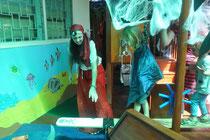 Eine Halloween-Party war das Ziel unseres letzten Wochenendausflugs.
