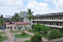 Das ehemalige Schulgelände Toul Sleng