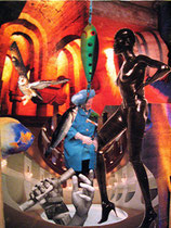 A Pasar por el Aro (collage tradicional) VENDIDA