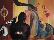 Paraiso Perdido (collage tradicional) VENDIDA