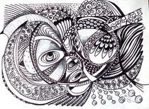 Miteinander, Stifte, 30 x 40 cm