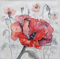 Leben in der Blume - 40x40