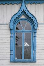 Kirchenfenster einer russisch-orthodoxen Kirche