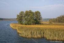typische masurische Seenlandschaft