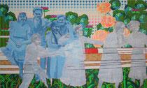 Geisterkinder, 2010, 150 x 250 cm