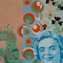 Heidi in K-Stadt, 1996, 150 x 150 cm