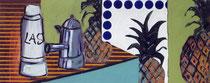Drei Ananas, 65 x 140 cm