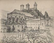 Foix, Ariège 1937 André Aaron Bilis