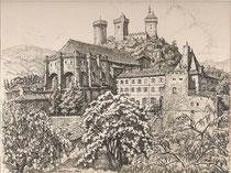 Foix, Ariège 1942 André Aaron Bilis