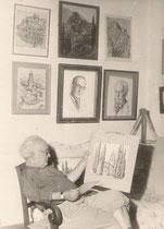 A.Bilis à Garigou (Ariège) en 1959