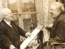 A.Bilis avec Michel Simon