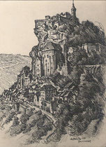 Rocamadour, Lot 1933 André Aaron Bilis