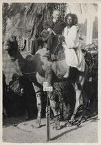 A Bilis et son modèle Hamed Exposition coloniale de 1931 Paris