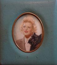 jeune femme et son chien 1939 - miniature André Aaron Bilis