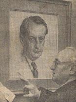 Exposition  à la Bibliothèque Espagnole de Paris 1959