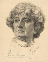 Guerrero Maria 1920 fusain André Aaron Bilis