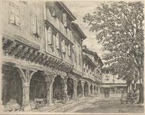 Mirepoix, Ariège 1941 André Aaron Bilis
