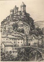 Chateau de Foix, Ariège André Aaron Bilis