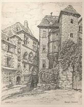 Sarlat, Dordogne 1941 André Aaron Bilis