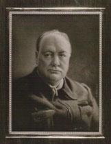 Churchill 1947 miniature André Aaron Bilis