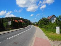 Wjazd do Spychowa