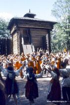 XX век. Фольклорные праздники в Коломенском. 1986-1988 гг.