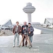АРМЕНИЯ. 1989 год. Аэропорт Звартноц.